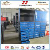 Gaveta 28 Pesado Armário de armazenamento da ferramenta de metal com caster