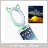 Accesorios de cámara del teléfono móvil de la luz de relleno de LED