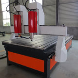 CNC Router Stone Two Heads Stone Engraver Machine with Rotary drill