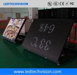 Афиша знака обслуживания P8mm напольная передняя для бензоколонки и казина