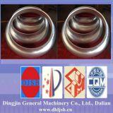 Cabeça cônica de alumínio / cabeça de prato para máquinas