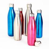 Edelstahl-Sport-Flaschen-Vakuumkolben-Arbeitsweg-Kolben-Wasser-Flasche