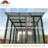 6 + 6 mm + 0.76PVB vidrio laminado con alta calidad