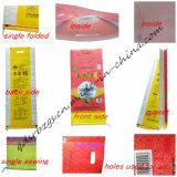 Sacchetto tessuto pp della plastica di riso, fertilizzante con l'alta qualità