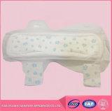 Algodão macio Topsheet da senhora almofada sanitária
