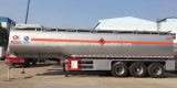 Carbon Steel 45000 Litros Fuel Tanker 45 Cbm Fuel Tank for Sale