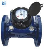 Medidor de água frio de /Hot da irrigação da agricultura, roda horizontal da aleta, Seletor-Wi secos