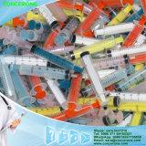 Wegwerfspritze mit buntem Spulenkern, farbige Spritze mit guter Qualität