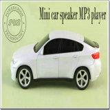 Форма автомобиля Mini портативная акустическая светодиодный экран поддерживает карты памяти Micro SD с FM для MP3/MP4/ноутбуки/Mobliephone