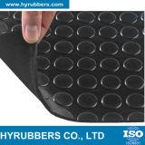 Hoja del botón redondo anti del resbalón/estera/rodillo de goma del suelo