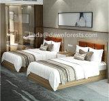 Base di legno dell'hotel poco costoso usata per la mobilia della camera da letto