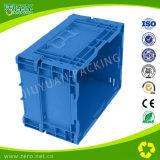 Caisse en plastique bon marché de mémoire colorée compressible pour l'industrie d'Automatique-Parties
