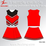 El diseño de la manera de Healong arropa los uniformes de encargo del Cheerleading para la muchacha