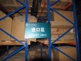 Tormento y estantería de la paleta del almacenaje del almacén