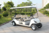 4 coche eléctrico del golf de Seater de las ruedas 6