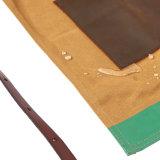 Avental encerado durável da parte traseira da cruz da lona da qualidade superior para a venda por atacado do artesão