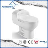 Salle de bain lavabo toilette en céramique à une pièce (AT7299)