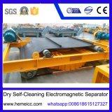 Separador magnético Self-Cleaning seco da suspensão eletro, removedor do ferro