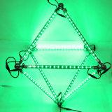 Madrix 3Dの効果雨管ライト