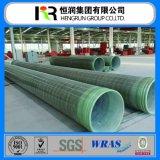 Tubo di vendita caldo della plastica di rinforzo vetroresina per costruzione
