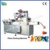 De Machine van de Verpakking van het Hoofdkussen van de Lolly van de hoge snelheid