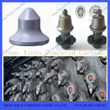 W6 Wirtgen Road Milling Picks Usado Cimentado Carbide Button Bit