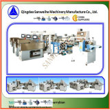 Swfg-590 larga seca la pasta de pesaje automático y maquinaria de embalaje