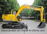 Excavador hidráulico de la nueva del buen funcionamiento correa eslabonada de Baoding Bd80-8 para la venta