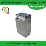 Piezas de la fabricación de metal hechas del acero inoxidable doblando