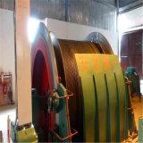Única grua da dobadoura do cilindro da mina da corda