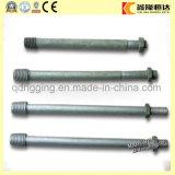 Pin 유형 절연체 Pin 절연체 또는 Crossarm Pin /Pole 선 기계설비를 위한 스핀들