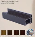 ريح مقاومة خشبيّة لون [بفك] نافذة قطاع جانبيّ مع وحيدة/ضعف/زجاج ثلاثيّة