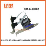 PCI-E a 2puerto serial y paralelo Puerto de 1MS9901 Chipset