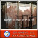 Losa de mármol importada de Gangsaw con jade rojo del dragón