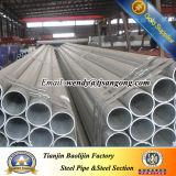 Galvanisiertes ERW Stahlrohr für Niederdruck-Flüssigkeit