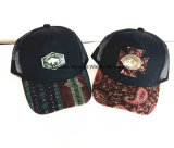 Tendência 2016 nova, chapéus urbanos da forma e tampões relativos à promoção feitos malha dos esportes dos chapéus