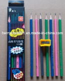 19cm Long Triangle Pencil, Sky-050