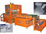 Caja automática del PVC que arruga la soldadora de alta frecuencia