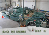 Grande machine commerciale de fabrication de blocs d'icee