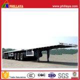 Superlink Plattform-Ladung-halb Schlussteil mit Behälter-Verschlüssen