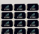 Etiqueta engomada decorativa del PVC del imán adhesivo del refrigerador