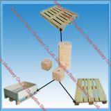 Automatischer hölzerner Sägemehl-Block, der Maschine herstellt