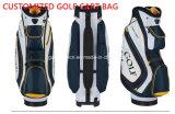 Мешок тележки гольфа PU кожаный
