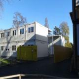 La construcción de casas móviles prefabricados modulares para diversos fines