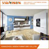 ヨーロッパ式の新しく小さい台所家具のラッカー食器棚