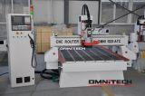Router funzionante di legno di CNC di Atc della macchina di Omni 2040 per il portello