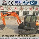 新しく小さい0.1-1m3バケツのクローラー掘削機Bd65/Bd80/Bd90