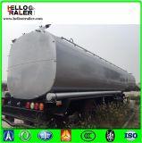 45000 van het Roestvrij staal Van de Stookolie liter Aanhangwagen van de Tanker van de Semi