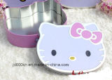 Nuevo diseño de Hello Kitty Caja de regalo de estaño/estaño/caja de caramelos Weddy Box