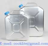 Bidon L'aluminium/Jerrican L'aluminium/Bidon un'essenza/Jerrican di alluminio